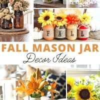 20 Fall Mason Jar Crafts To Decorate Your Home