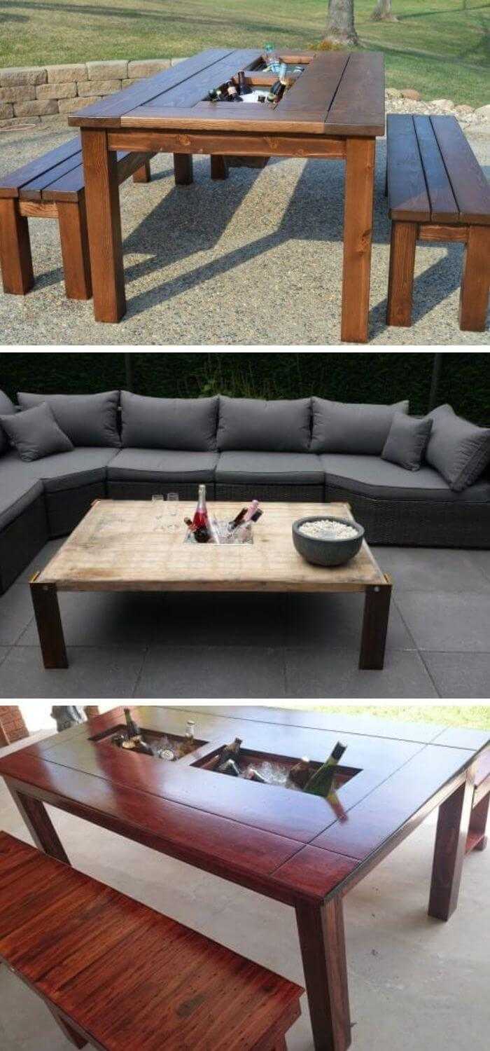 15 diy outdoor table ideas projects
