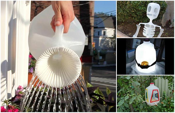 15 Creative Ways To Reuse And Upcycle Milk Jugs