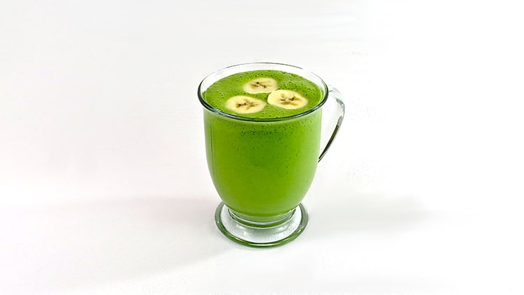 Spinach and Banana Smoothie