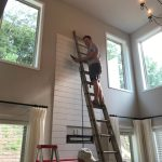 Diy Shiplap Fireplace Tutorial Home And Hallow