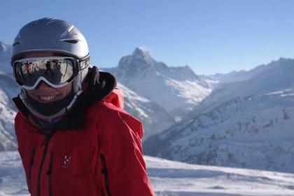 lyžařka