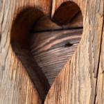srdce ze dřeva