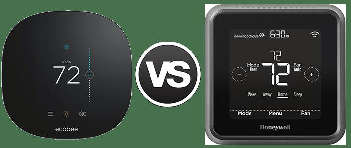 ecobee3 Lite vs Honeywell Lyric T5