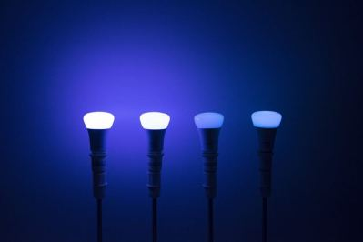 Philips Hue A19 in Blue