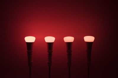 Philips Hue A19 in Red