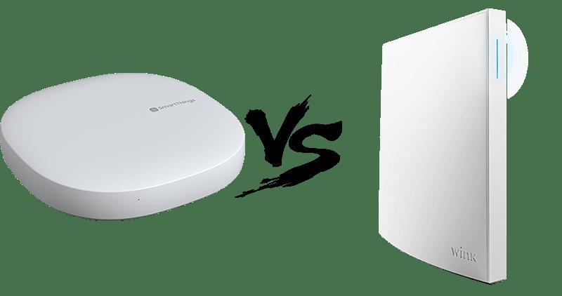 SmartThings Hub 3 gen vs Wink 2