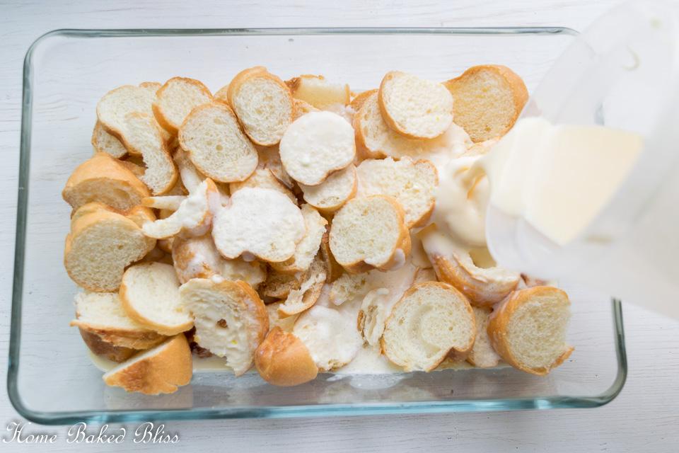 Add the cream mixture