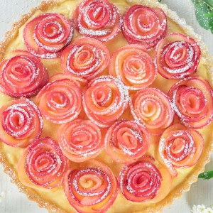 apple rose tart, apple rose, apple roses, apple rose recipe, how to make apple roses, apple tart, apple tart recipe, Mother's Day recipe, Mother's Day recipe idea, tart recipe, how to make tart