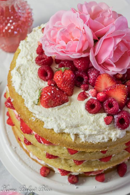 Berry Layer Cake