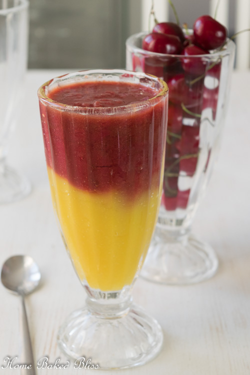 Mango Cherry Smoothie