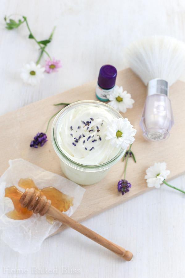 honey lavender body butter, diy body butter, body butter, honey body butter, lavender body butter, healthy body butter, natural beauty diy, diy body lotion, how to make body butter, how to make body lotion
