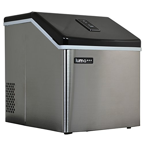#3 - Luma Comfort IM200SS Portable Clear Ice Maker, 28-Pound