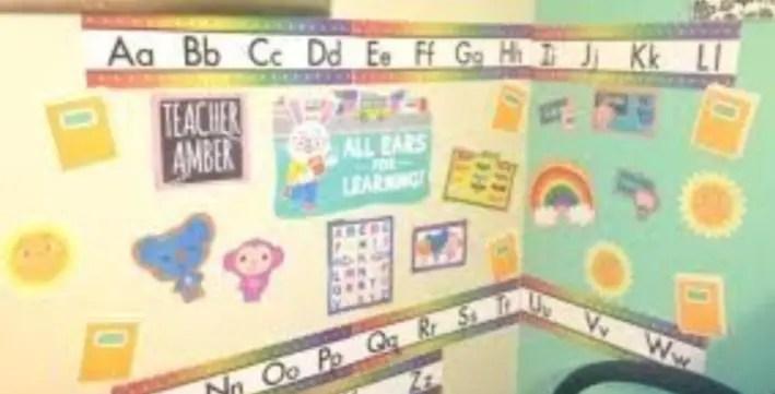 ESL Teacher Room Background