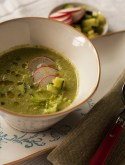Zöld gazpacho