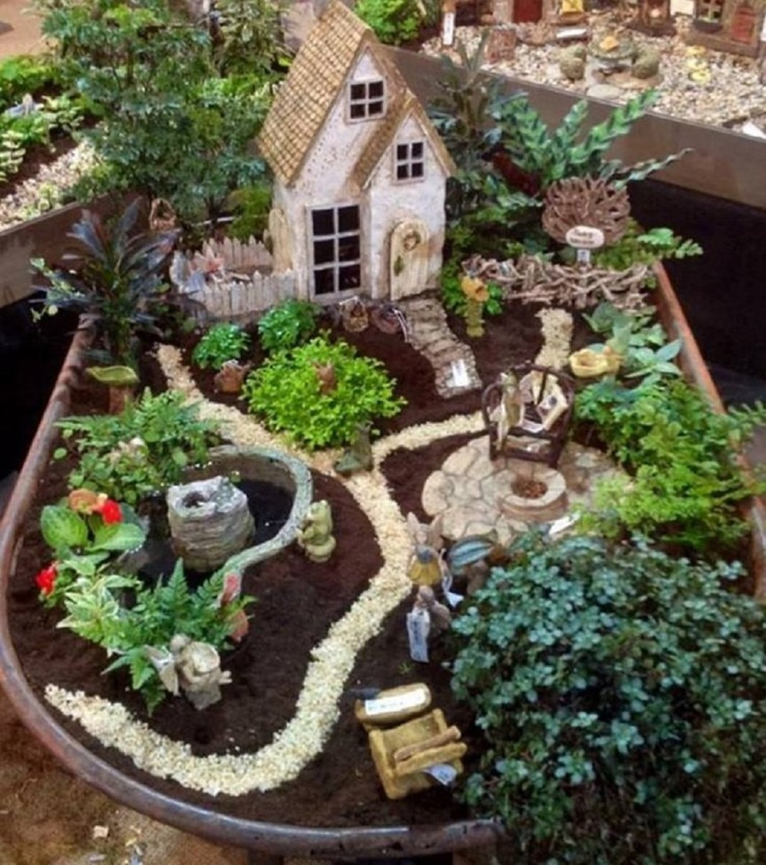 Fairy Garden Ideas: Fire Up The Grill, Guys