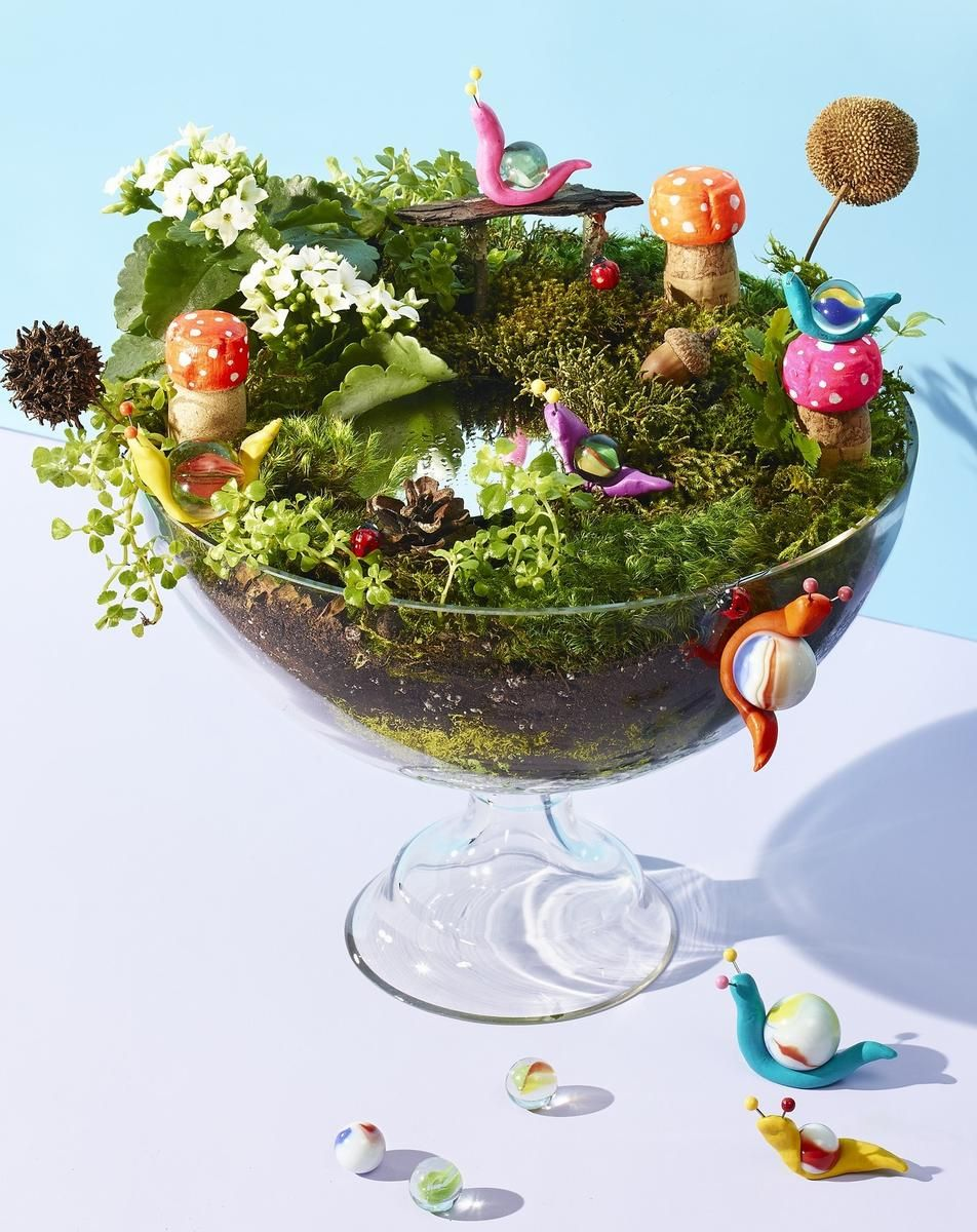 Fairy Garden Ideas: Meditation Walk Fairy garden