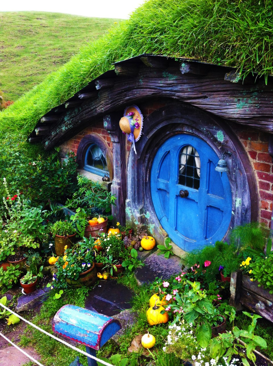 Fairy Garden Ideas: My blue heaven diy fairy garden