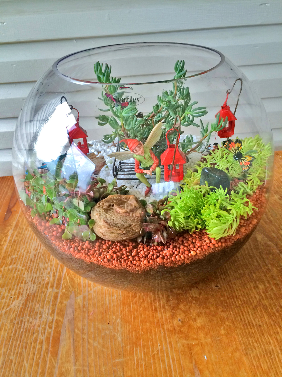 Fairy Garden IDeas: I was waiting for you diy fairy garden