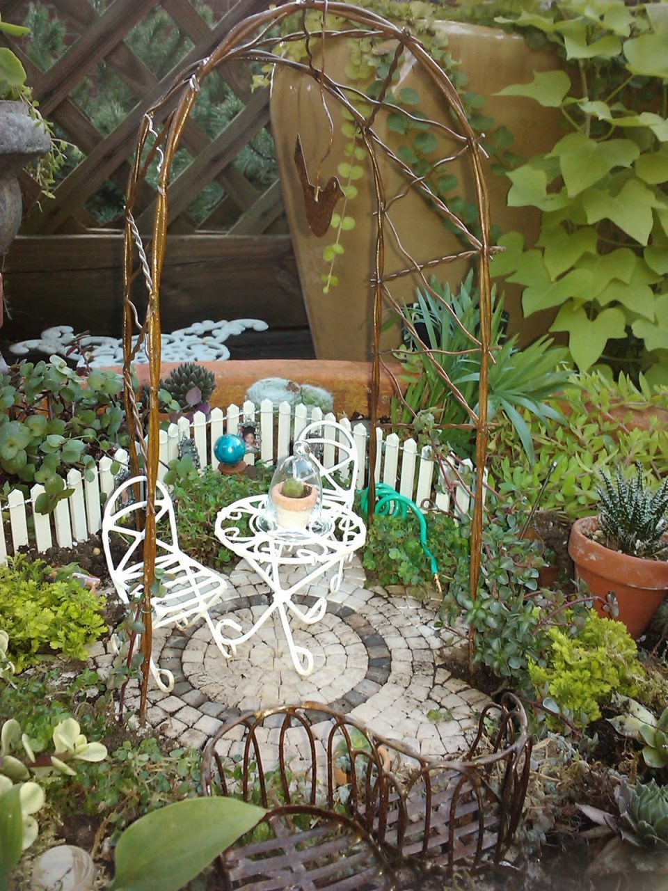 Fairy Garden Ideas: Hunnicutt land fairy garden