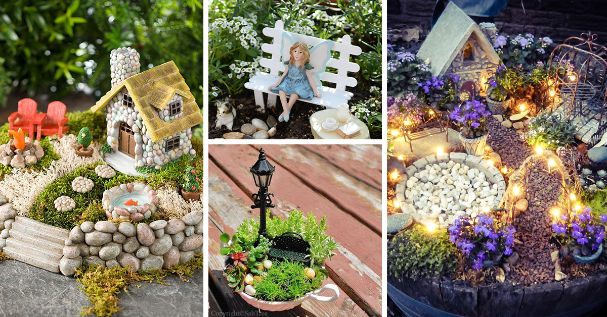 The 50 Best Diy Miniature Fairy Garden Ideas In 2019