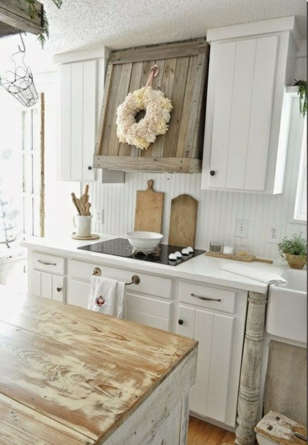 Rustic Country Kitchen Decorating Ideas