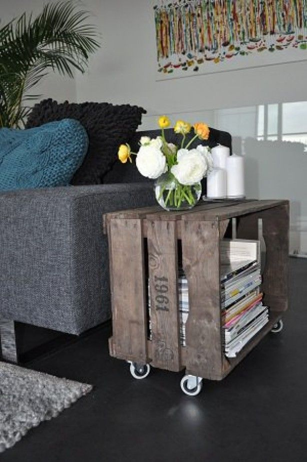 diy wood crate projects and ideas