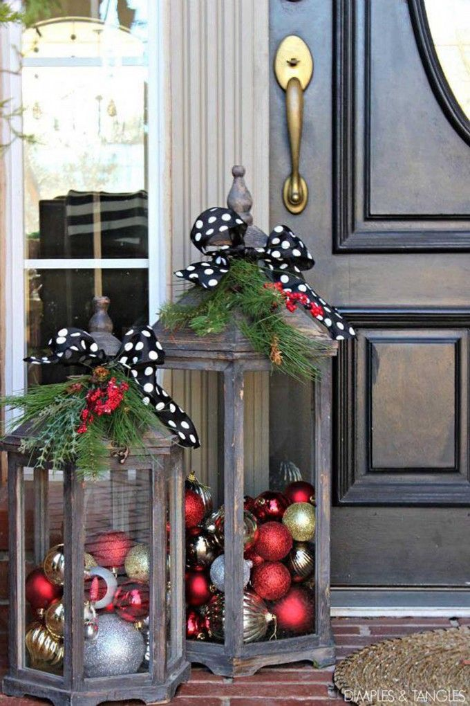 50 Best Christmas Porch Decoration Ideas For 2019