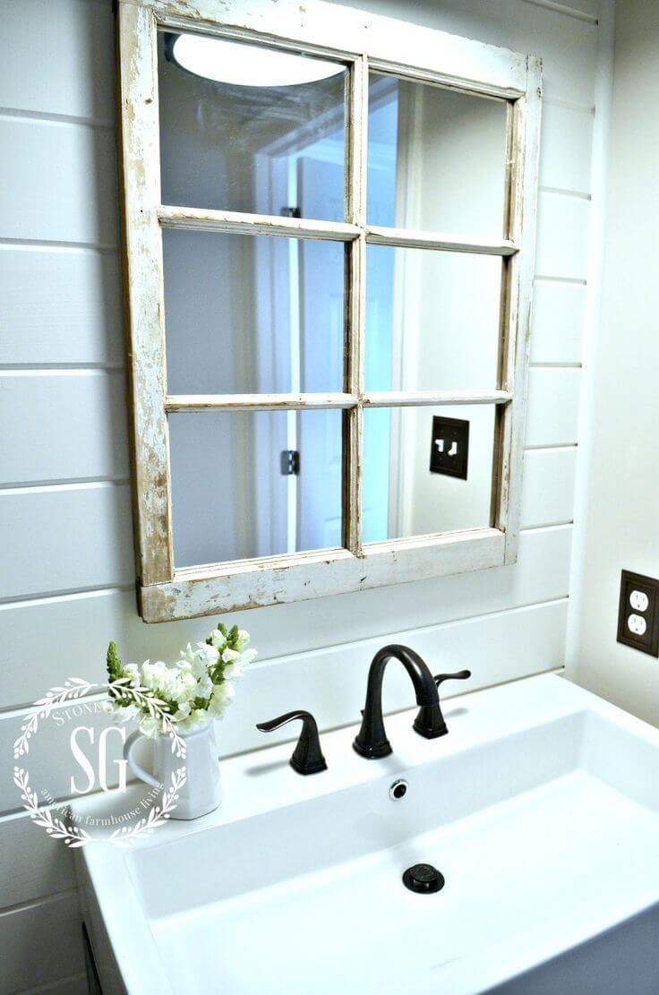 25 Best Repurposed Old Window Ideas And Designs For 2019