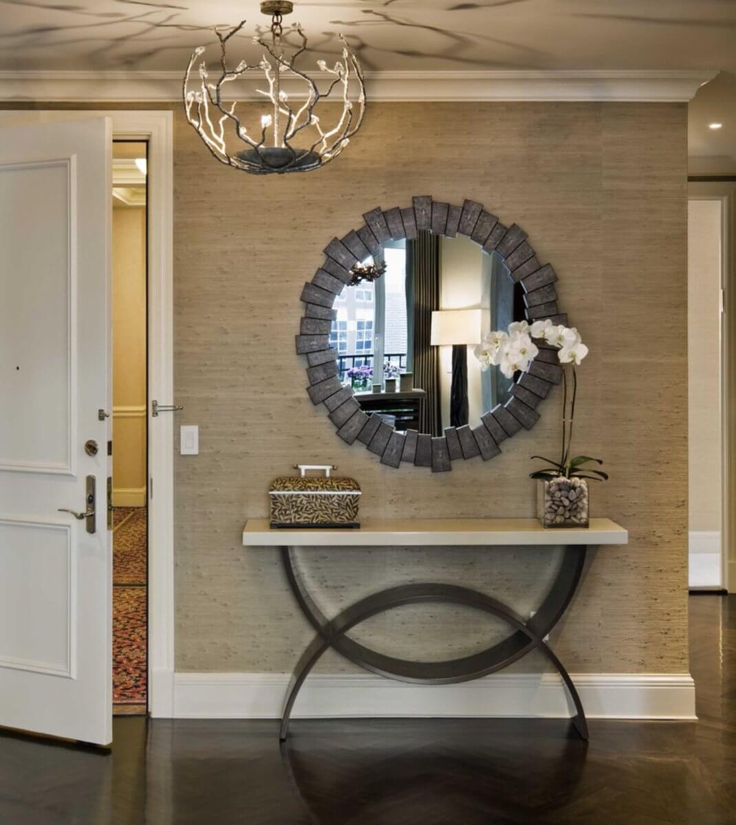50+ Best Entry Table Ideas (Decorations and Designs) for 2021