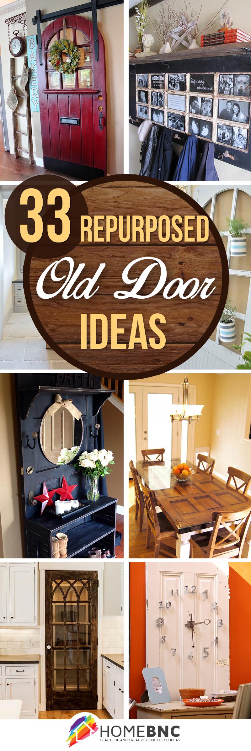 33 Best Repurposed Old Door Ideas And Designs For 2019