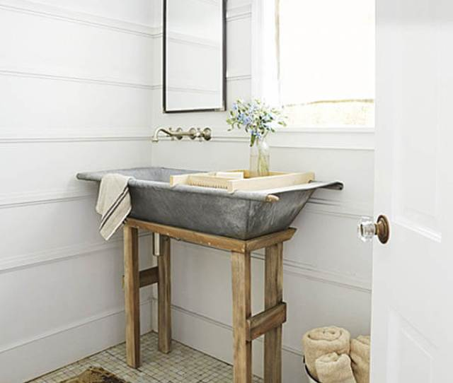 Diy Galvanized Metal Tub Farmhouse Sink