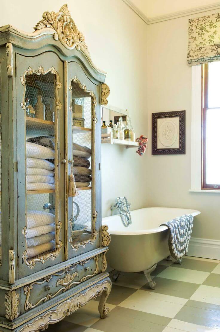 15 Lovely Shabby Chic Bathroom Decor Ideas