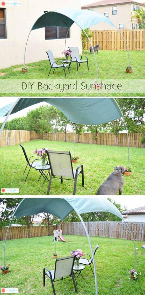 22 best diy sun shade ideas and designs