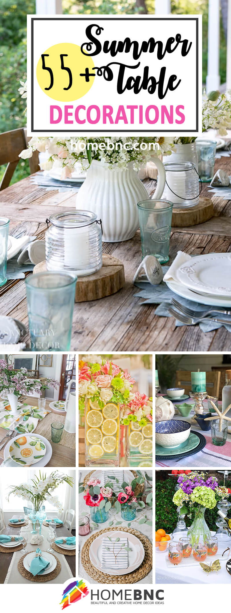 55 Best Summer Table Decoration Ideas And Designs For 2020