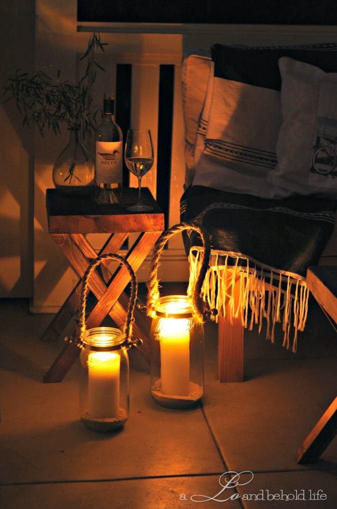 Pillar Candle Lanterns are Stylishly Simple