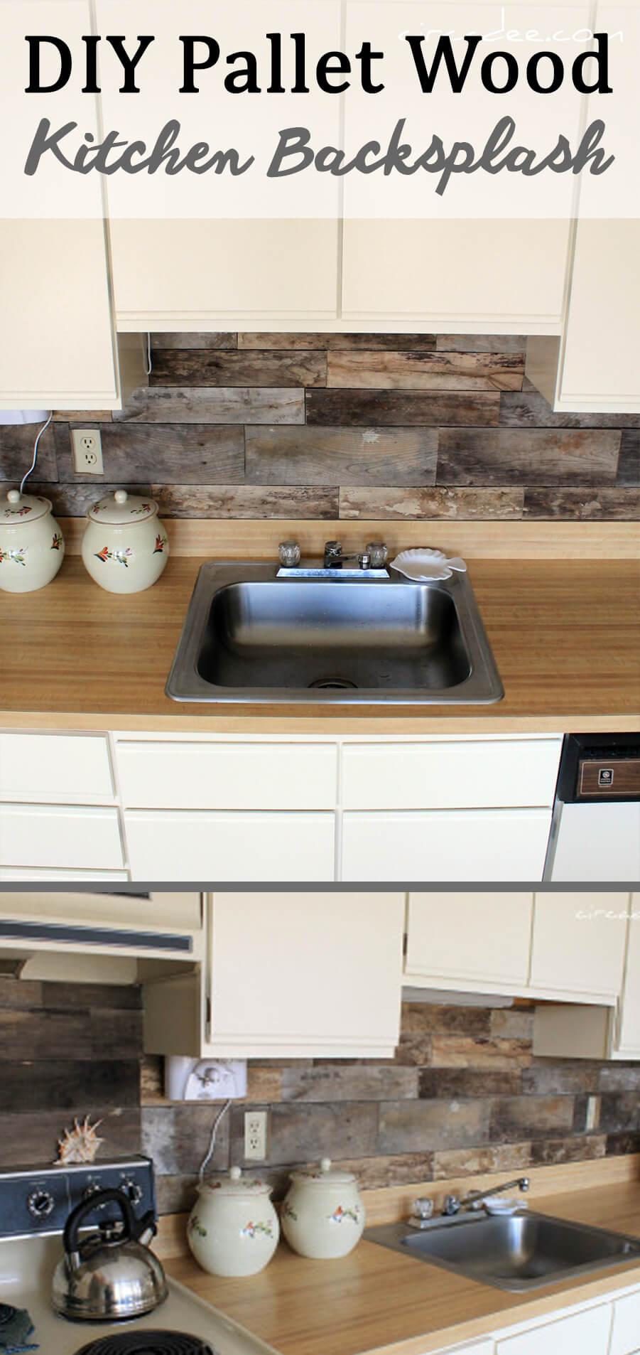 25 Best Diy Kitchen Backsplash Ideas And Designs For 2020