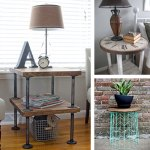 25 Best Diy Side Table Ideas And Designs For 2020