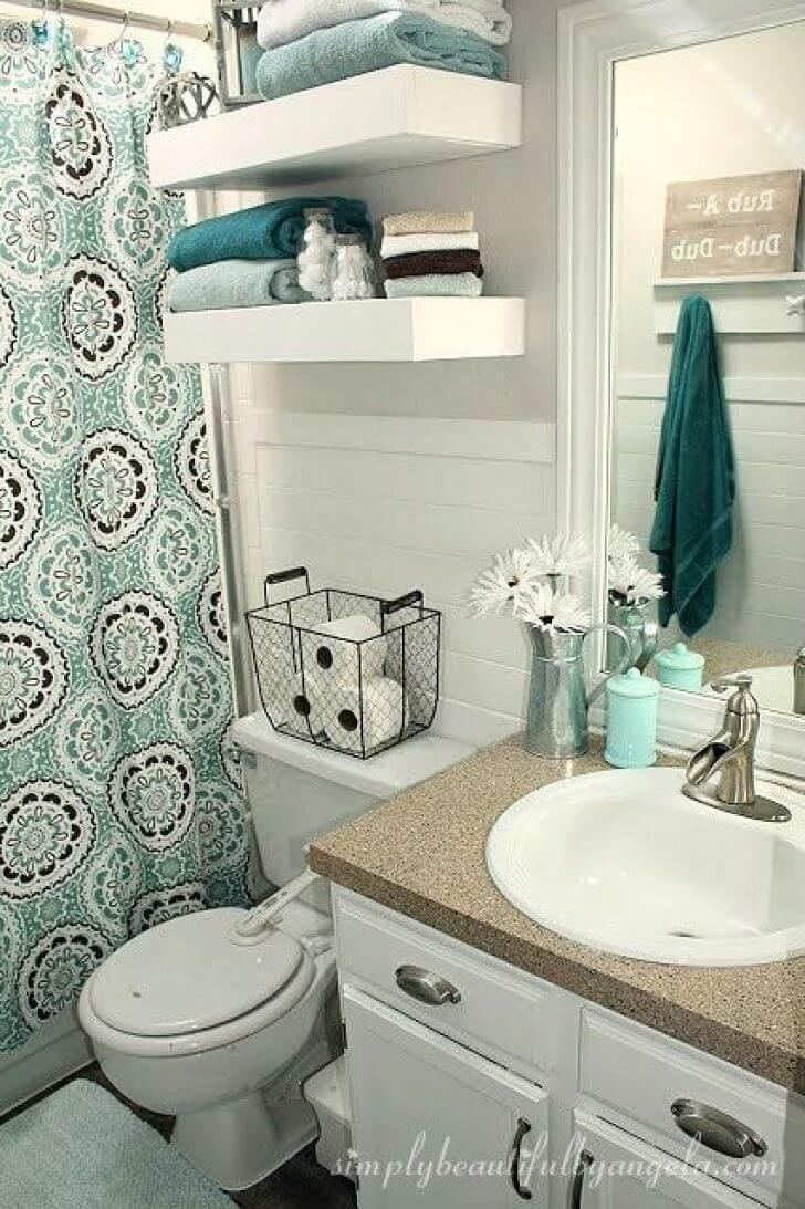 32 Best Over The Toilet Storage Ideas And Designs For 2020