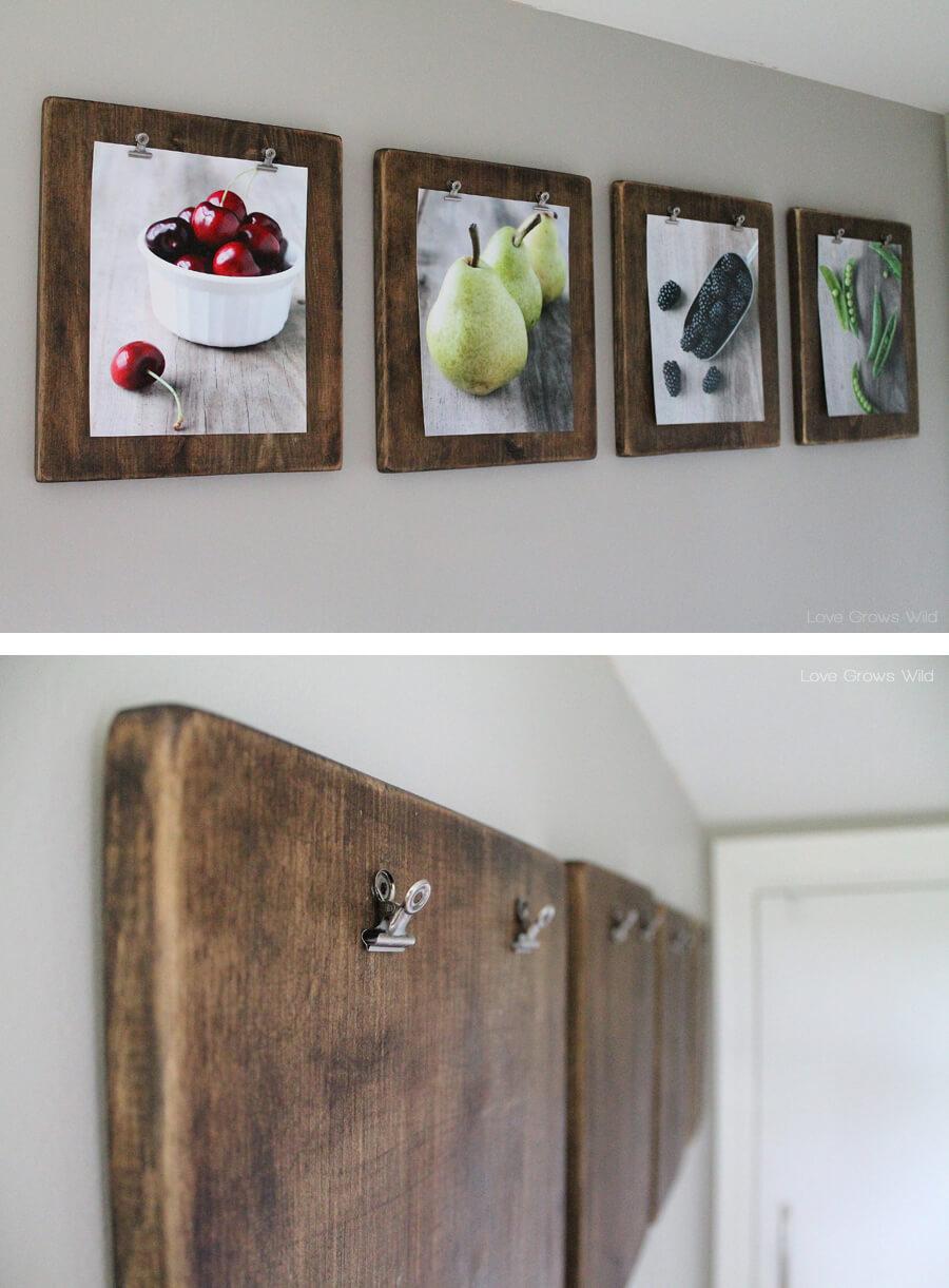 Wooden Kitchen Wall Decor Novocom Top