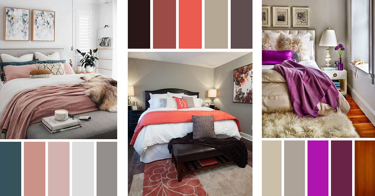 12 Best Bedroom Color Scheme Ideas And Designs For 2019