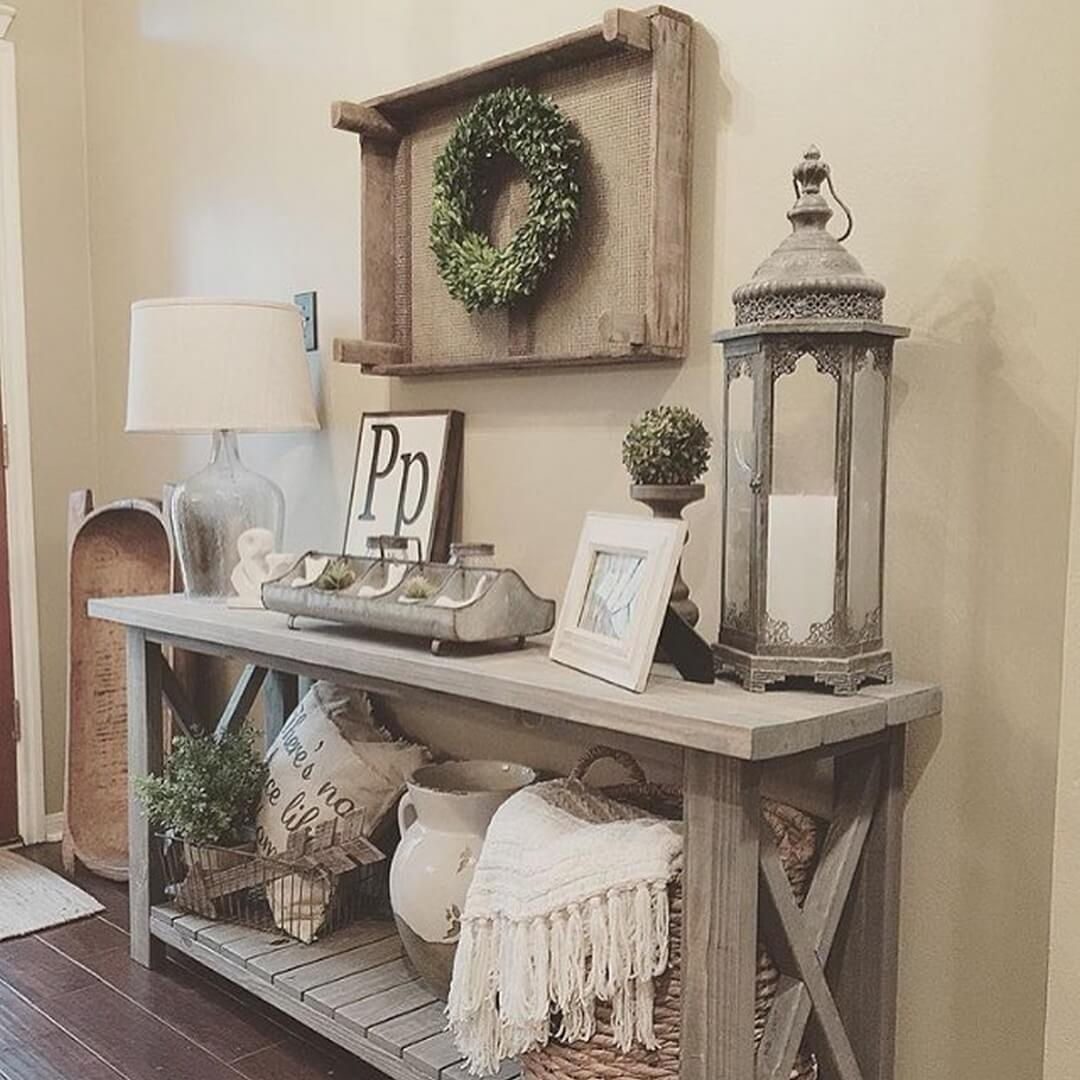 35  Best Rustic Home Decor Ideas and Designs for 2018 1  Country Cottage Inspired Entryway Design