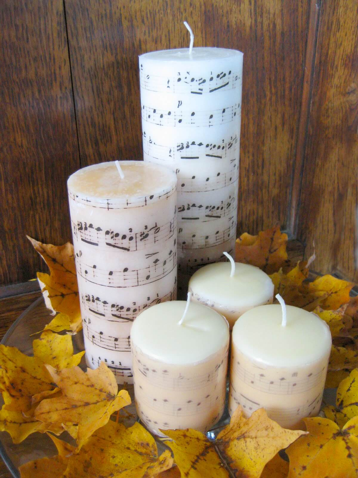 Musical Melodies Add Flair to Any Candle
