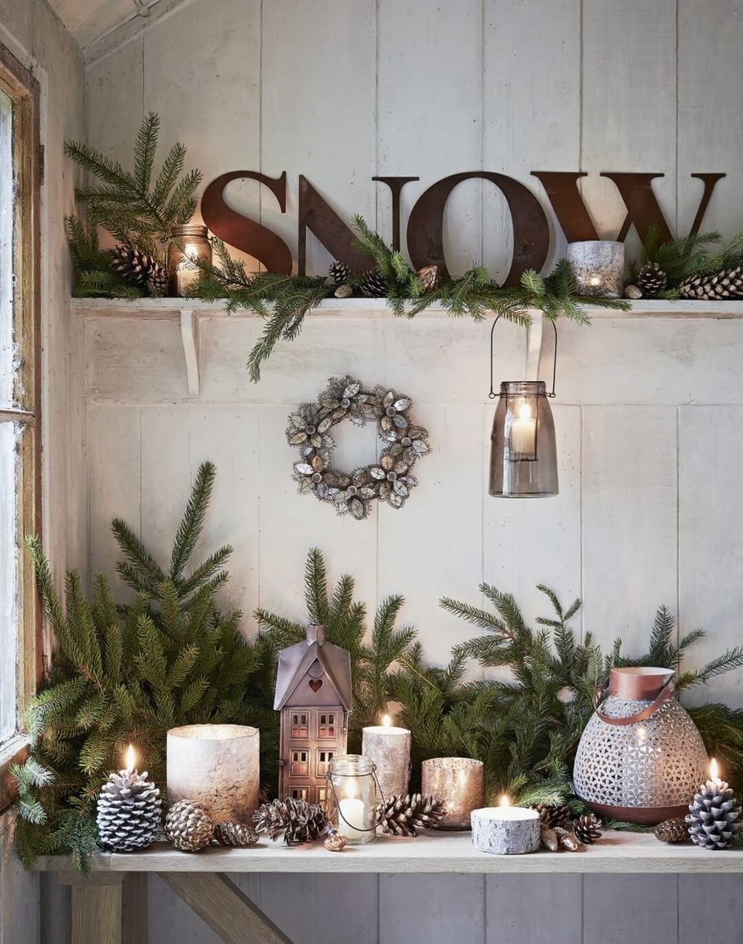 32 Best Rustic Winter Decor Ideas And Designs For 2019