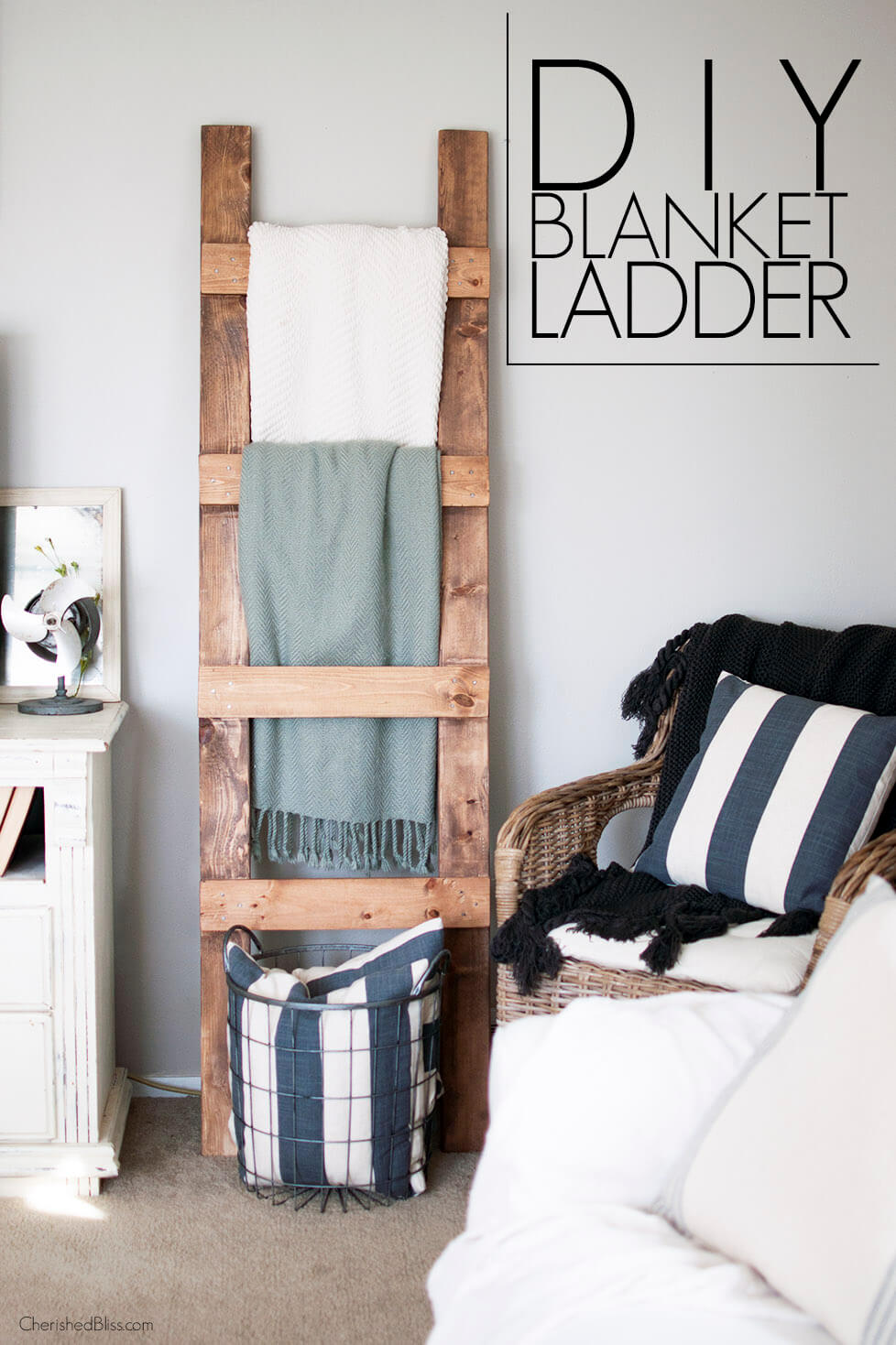 45  Best DIY Living Room Decorating Ideas and Designs for 2018 DIY Living Room Decorating Ideas with Ladders