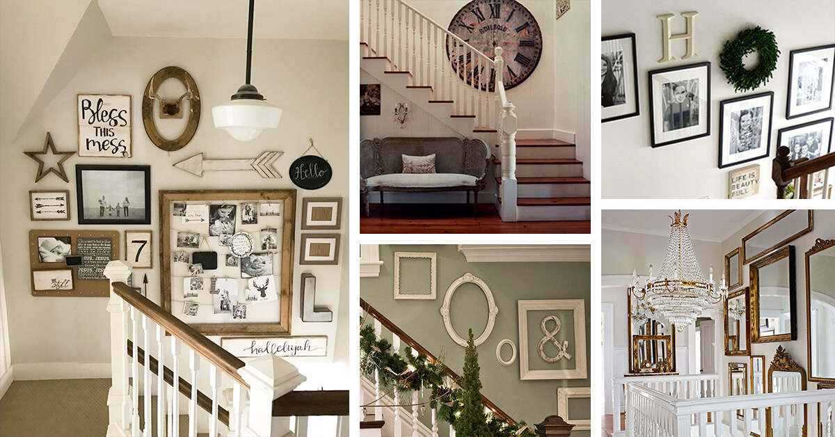 28 Best Stairway Decorating Ideas And Designs For 2019