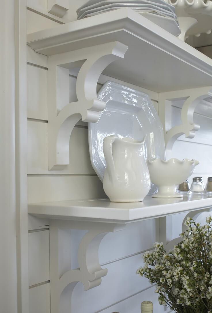 White Country Kitchen Ideas