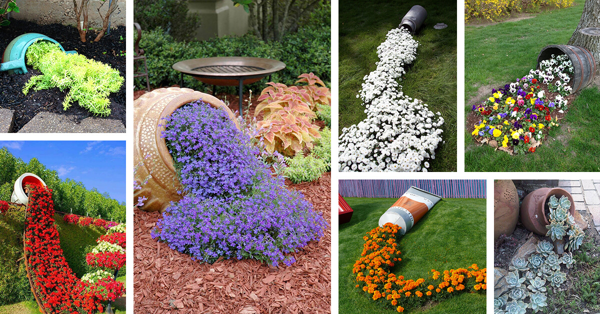 Tipped Over Flower Pots