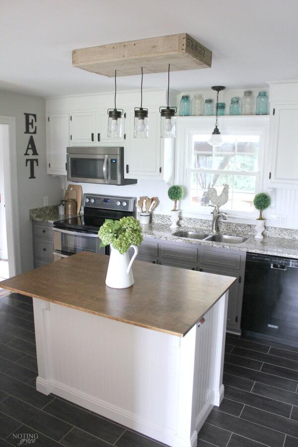 Diy Farmhouse Kitchen Ideas Novocom Top