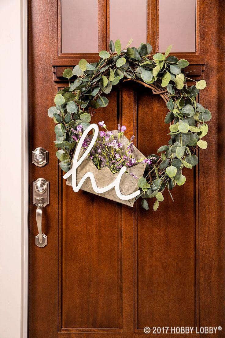 33 Best Rustic Farmhouse Wreath Ideas And Designs For 2019
